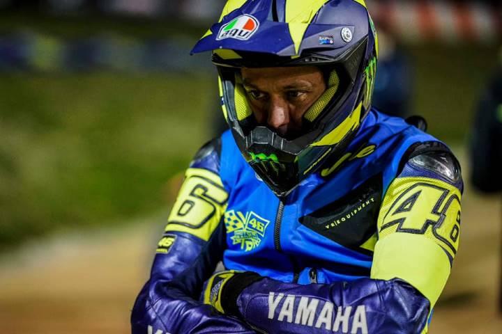 Rossi Marini rancho VR46 la 100km dei campioni