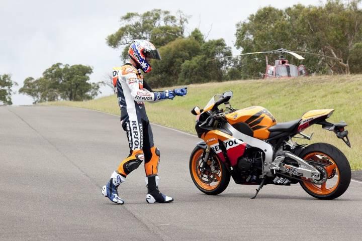 Stoner MotoGP Honda