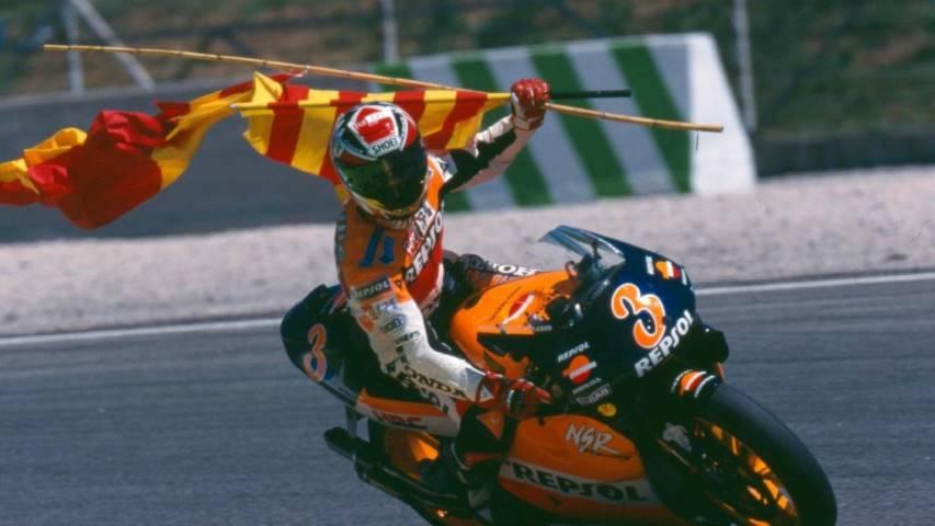 Álex Crivillé Marc Márquez 500 cc 125 cc Honda MotoGP