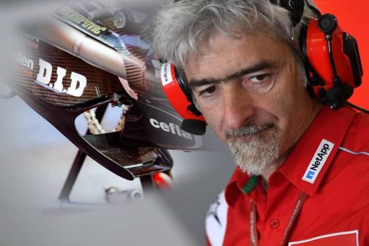 Carlo Pernat Gigi Dall'Igna Ducati navidad