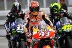 Rossi Marquez Viñales MotoGP