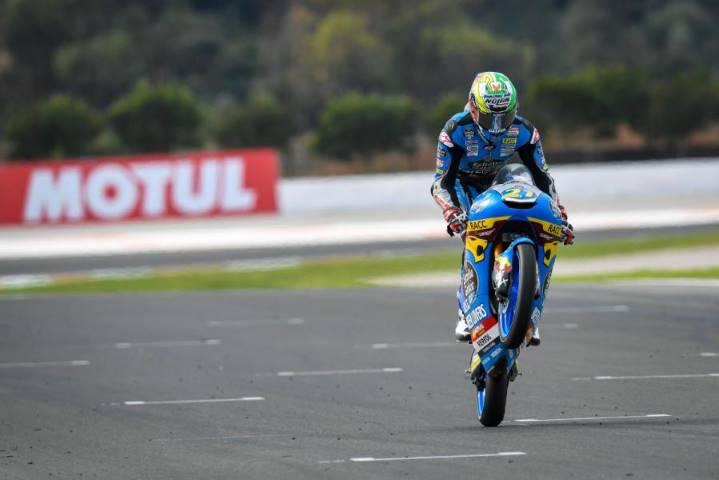 Alonso López Moto3 Estrella Galicia Max Racing Team Biaggi Romano Fenati MotoGP