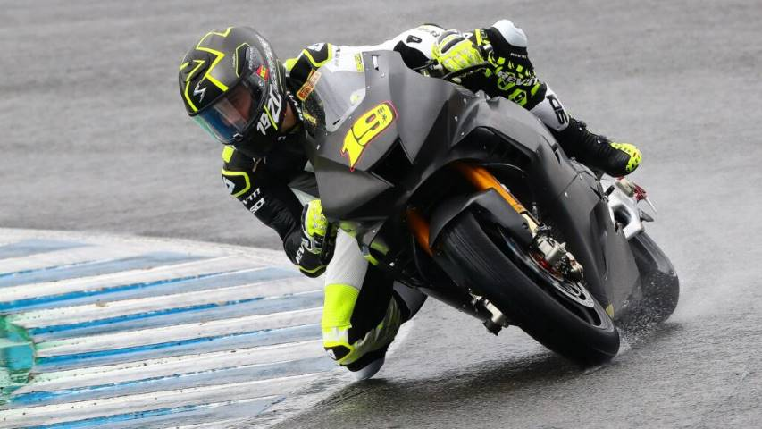 Álvaro Bautista WorldSBK Honda HRC Jerez test