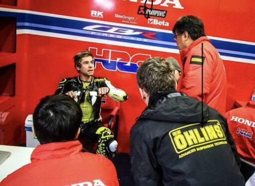 Álvaro Bautista Honda WorldSBK Jerez Test HRC