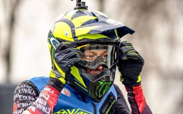 Valentino Rossi Motocross MotoGP Yamaha