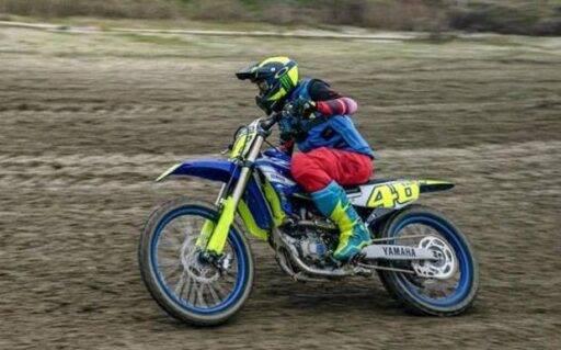 Motocross Valentino Rossi MotoGP Yamaha
