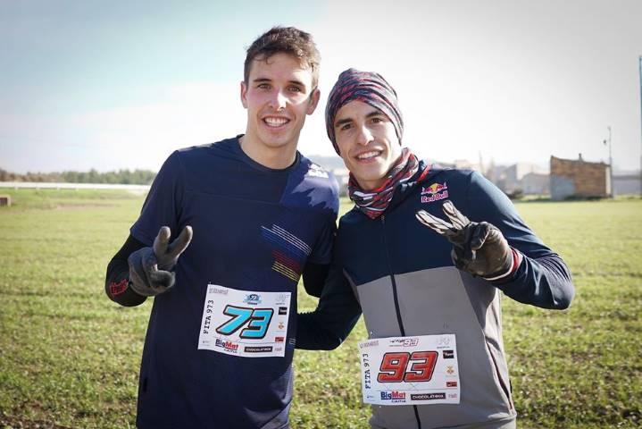 Alex Márquez y Marc Márquez