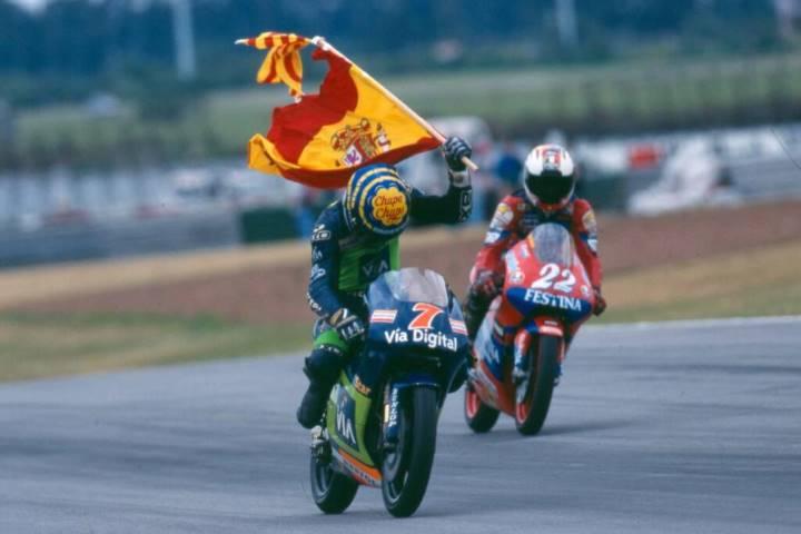 Emilio Alzamora Marc Márquez Honda MotoGP