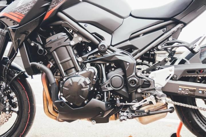 Prueba Kawasaki Z900 2020