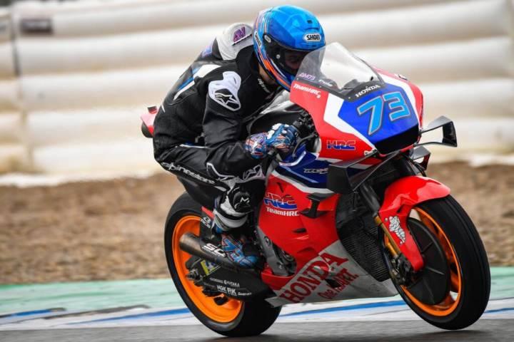 Dani Pedrosa Álex Márquez Jorge Lorenzo Aprilia shakedown MotoGP