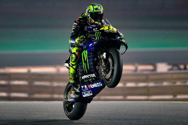Valentino Rossi Yamaha MotoGP Qatar Catar