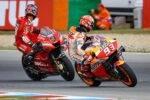 Pirro sobre el Holeshot de Ducati