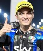 Luca Marini Moto2 coronavirus MotoGP 2020 Sky VR46