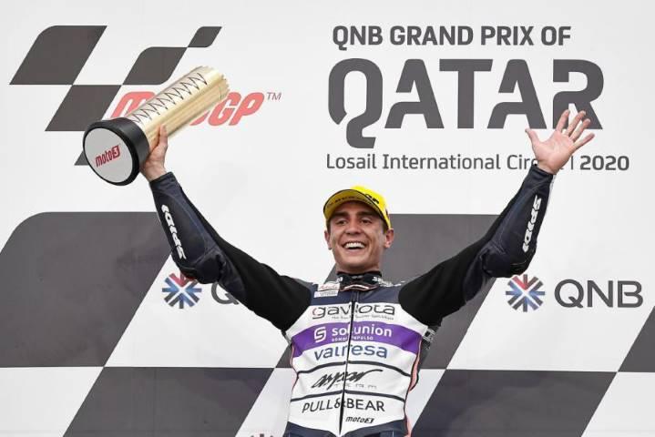 Álex Rins Albert Arenas Moto3 MotoGP Qatar