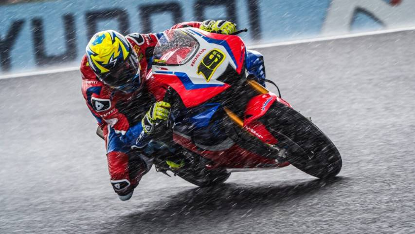 Álvaro Baustista Honda Australia World SBK