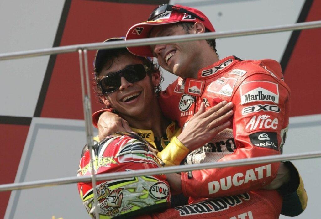 Capirossi Rossi MotoGP