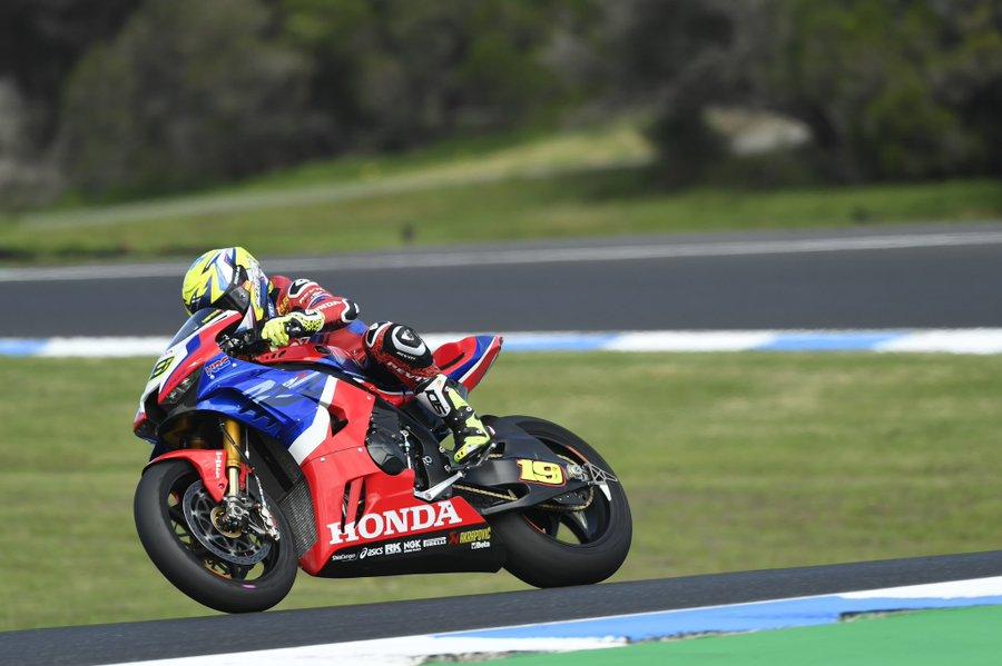 Bautista Honda WorldSBK