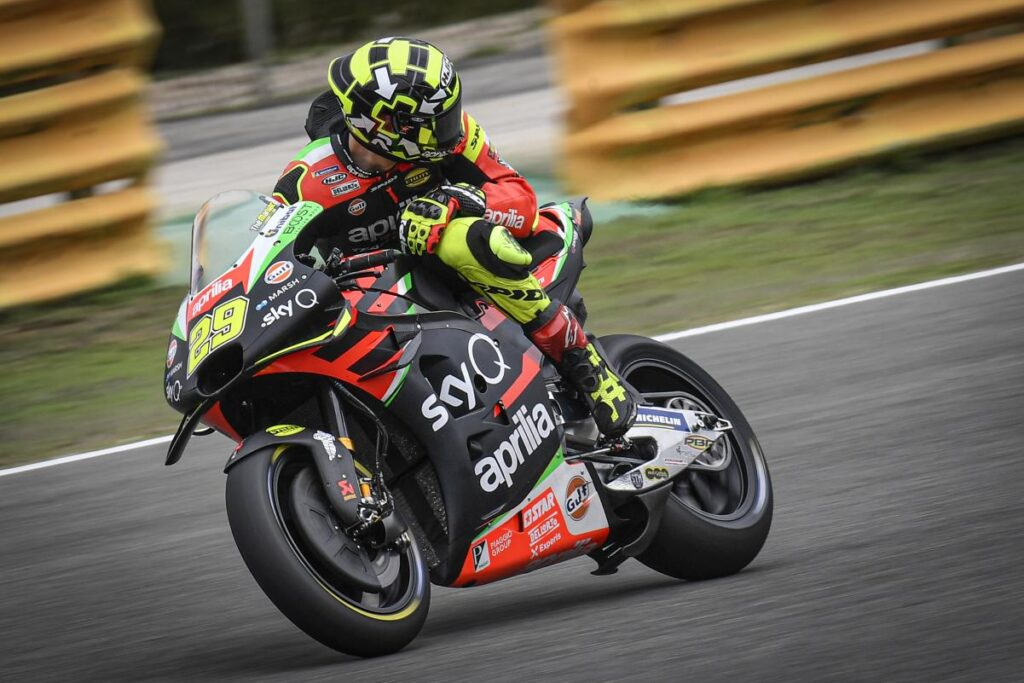 Iannone MotoGP Biaggi Aprilia