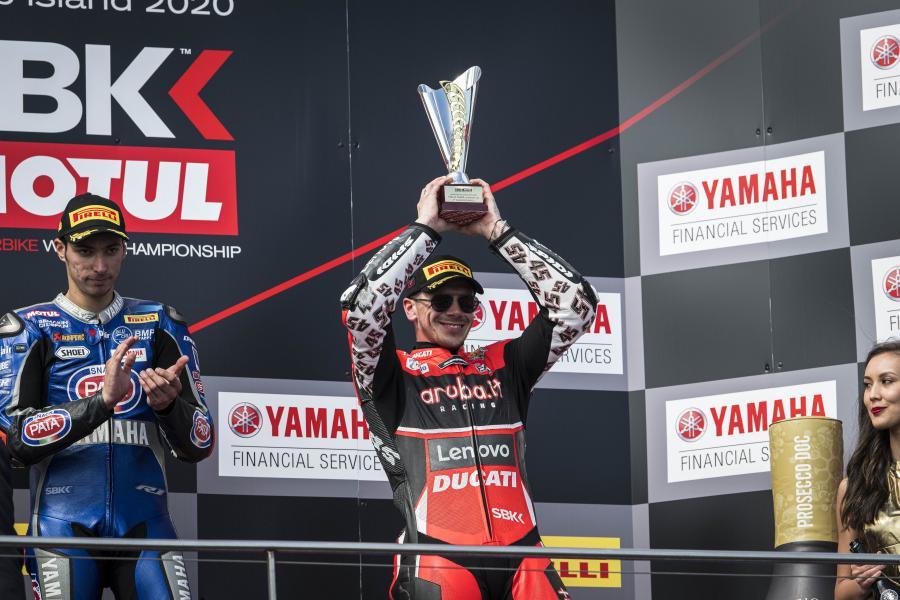 Bautista Redding Honda Ducati WorldSBK