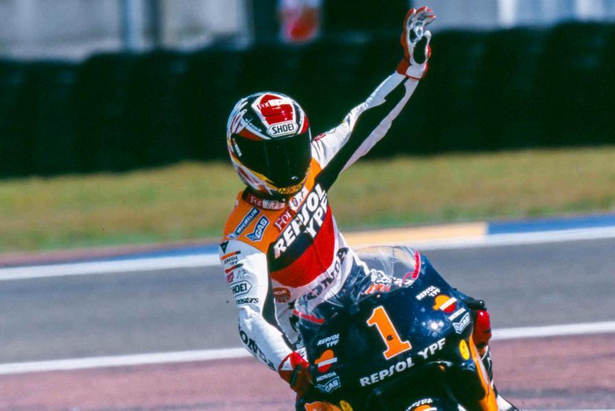 Alex Crivillé MotoGP Honda DAZN