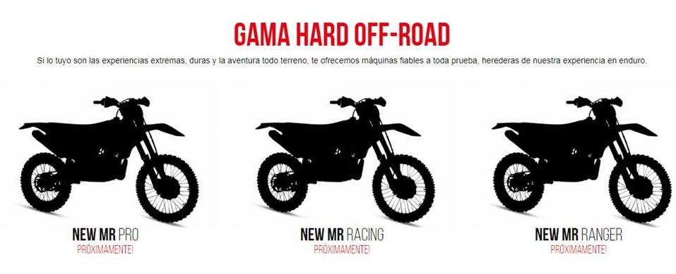 Rieju anuncia sus nueva gama Hard Off Road