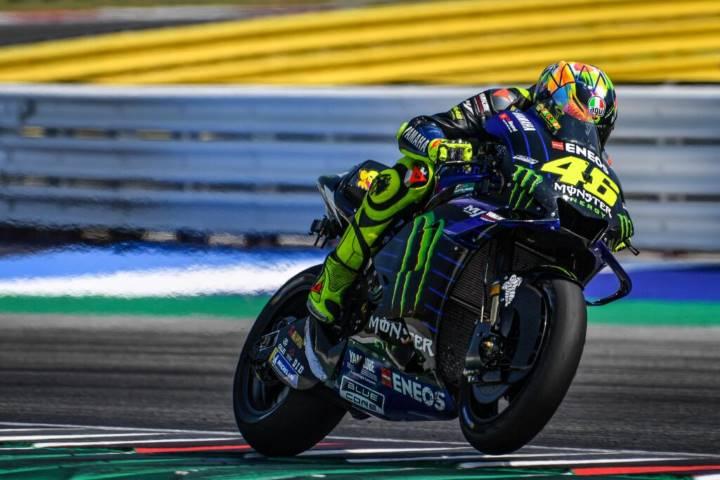 Rossi viaja hasta Misano