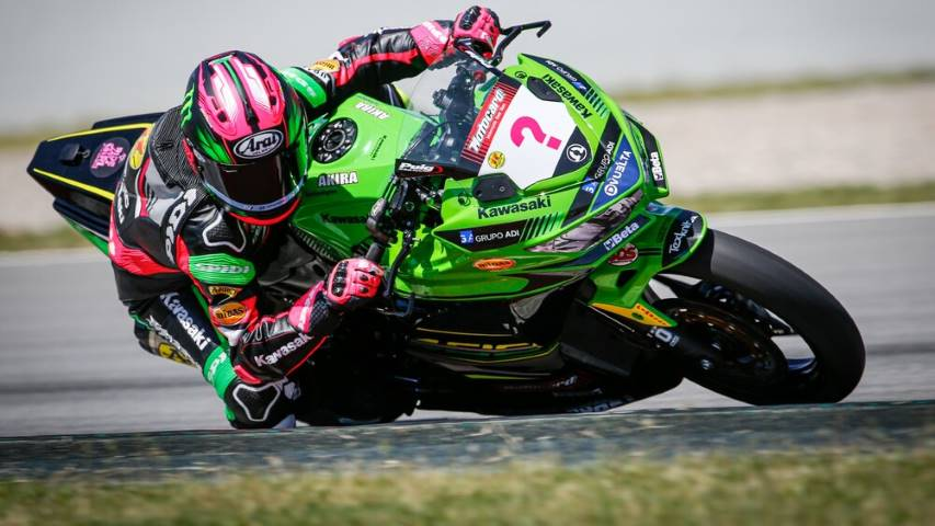 Ana Carrasco WorldSSP300 WorldSBK Supersport 300 Superbikes Kawasaki Provec Racing