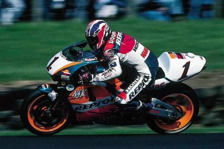 Doohan MotoGP 1992 lesión pierna campeonato