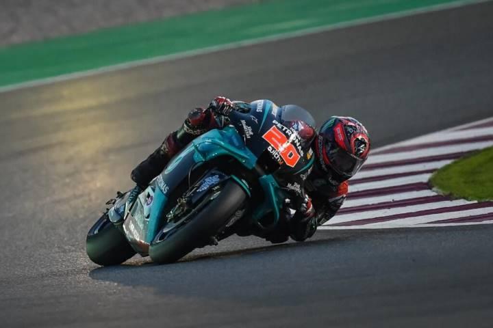Quartararo Yamaha Petronas MotoGP 2020 Valentino Rossi