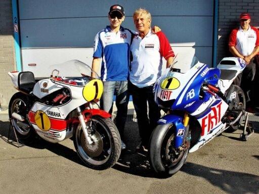 Jorge Lorenzo Giacomo Agostini MotoGP