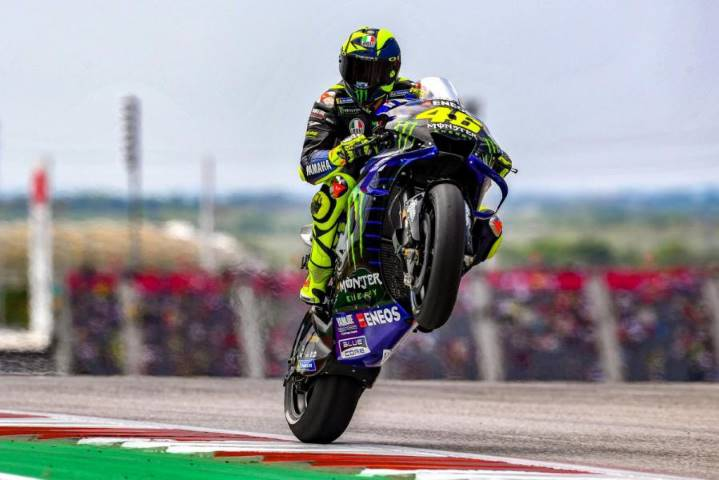 Valentino Rossi Johan Stigefelt Morbidelli Quartararo MotoGP Yamaha Petronas