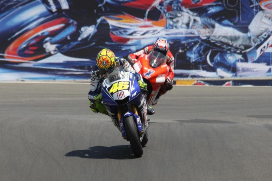 Valentino Rossi Yamaha Honda Stoner MotoGP