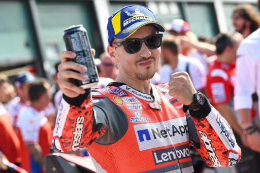 Jorge Lorenzo después de conseguir un podio con Ducati en MotoGP