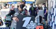 Fabio Quartararo Yamaha MotoGP ha sido primero en la sesión de clasificación del Gran Premio de España de MotoGP