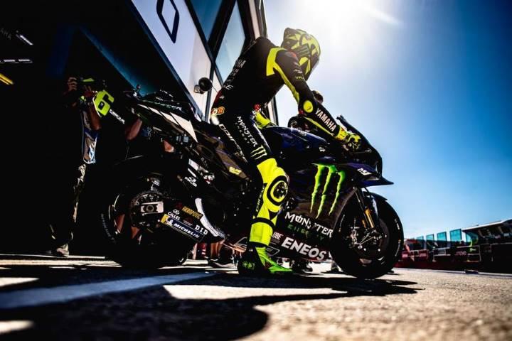 Valentino Rossi Petronas Yamaha MotoGP