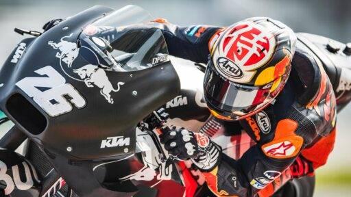 Pedrosa de test con KTM