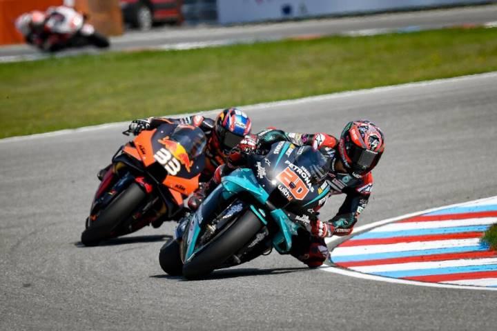 Quartararo Pernat Yamaha MotoGP Brno