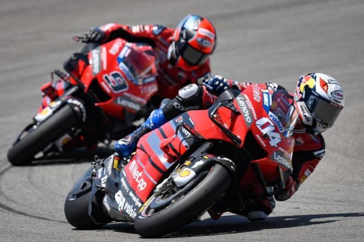 Petrucci Dovizioso Ducati KTM Pol Espargaró MotoGP 2020 Jerez