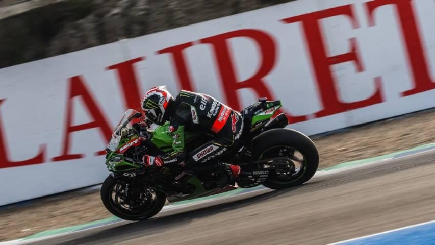 Jonathan Rea Kawasaki World SBK Jerez