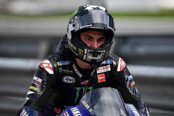 Viñales Yamaha MotoGP 2020 Autriche Red Bull Ring accident