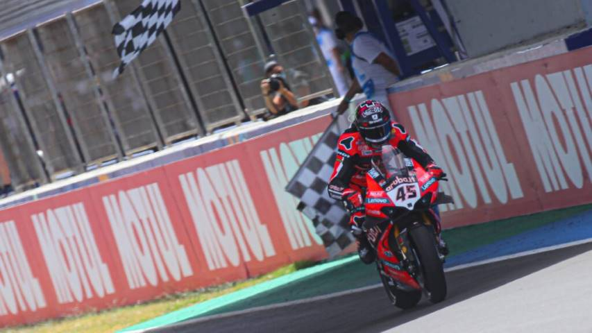Redding Davies World SBK Jerez
