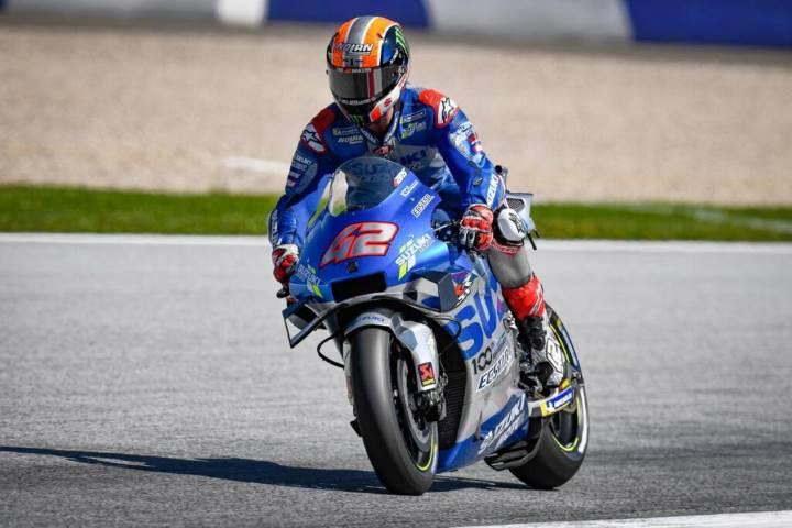 Mir Rins Suzuki MotoGP 2020 Austria Marc Márquez