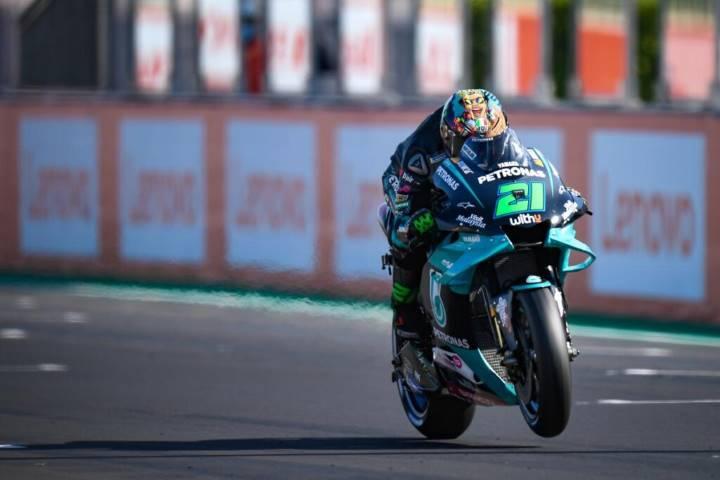 Franco Morbidelli Petronas Yamaha MotoGP Misano