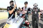 Fabio Quartararo en la parrilla de salida del Gran Premio de la Emilia Romagna de MotoGP