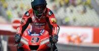 Petrucci con la Ducati este fin de semana durante el Gran Premio de San Marino de MotoGP