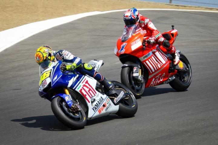 Stoner Marc Márquez Miller Rossi Ducati MotoGP
