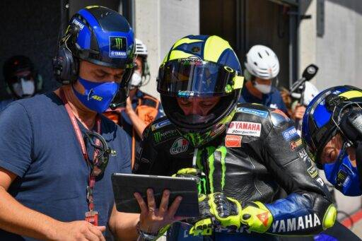 Valentino Rossi Yamaha Petronas MotoGP 2021 contrato