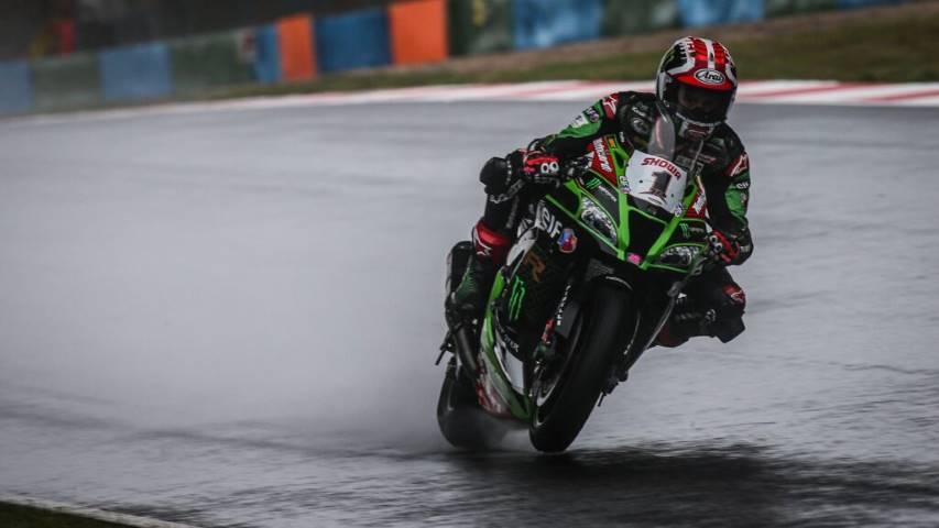Jonathan Rea SBK Kawasaki Magny-Cours Francia