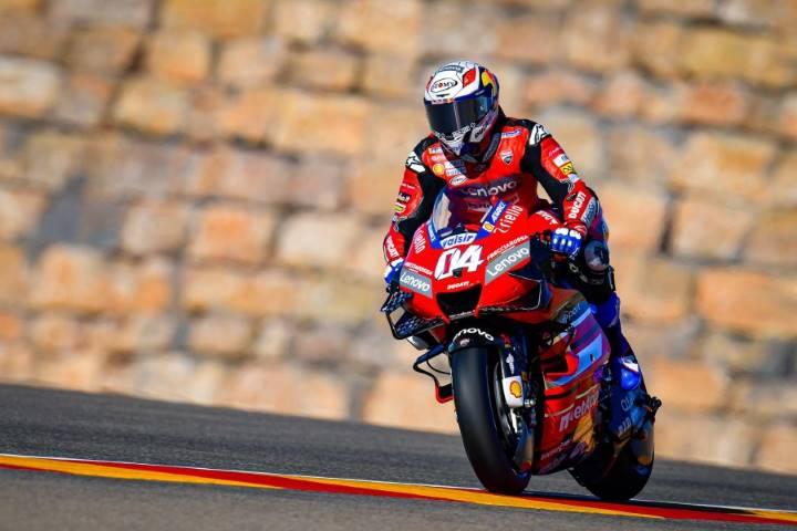 Andrea Dovizioso MotoGP Ducati Aragón