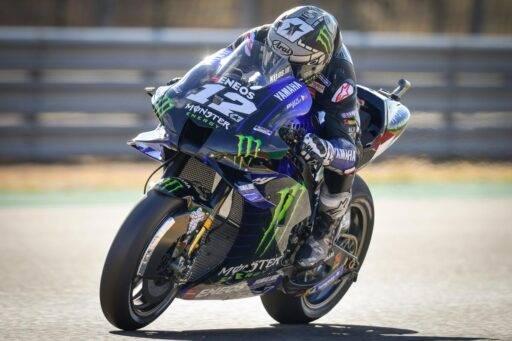 Maverick Viñales MotoGP Yamaha Motorland Aragon